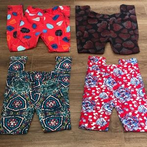 Girls LuLaRoe legging bundle